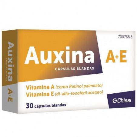 AUXINA VITAMINA A+E CAPSULAS BLANDAS 30U