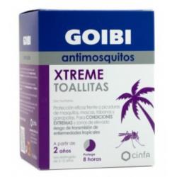 GOIBI XTREME ANTIMOSQUITOS 16 TOALLITAS