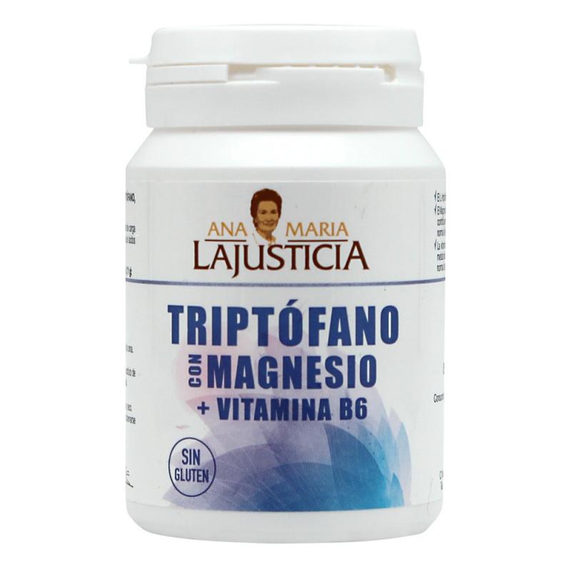 LAJUSTICIA TRIPTOFANO CON MAGNESIO + VIT B6 60 COMPRIMIDOS