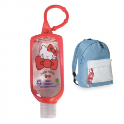 AIR-VAL GEL HIDROALCOHOLICO INFANTIL HELLO KITTY  O MINIONS 60ML