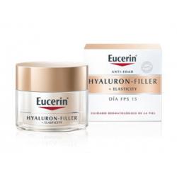 EUCERIN HYALURON FILLER ELASTICITY CREMA ANTIEDAD DIA 15FPS 50ML