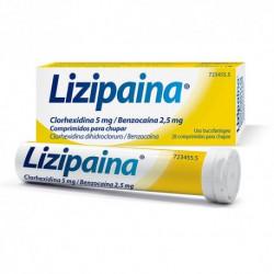 LIZIPAINA 20 COMPRIMIDOS