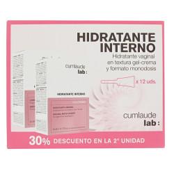 CUMLAUDE HIDRATANTE INTERNO GEL CREMA DUPLO 6+6 APLICADORES