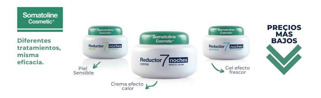 Precios más bajos en los productos Somatoline Cosmetic reductores y anticeluliticos